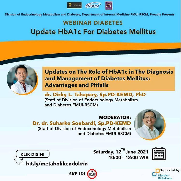 Webinar Diabetes 12 June 2021